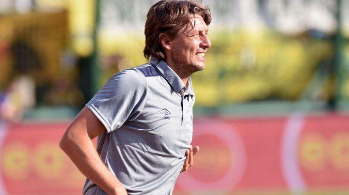 El DT. Heinze tiene contrato hasta junio.