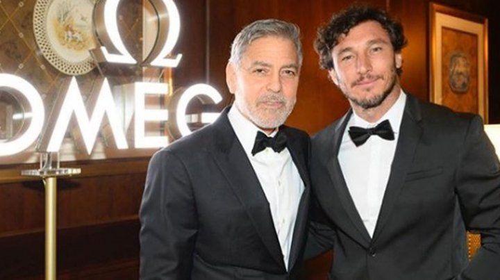 El increíble encuentro de Pico Mónaco con George Clooney en una cena organizada por la Nasa