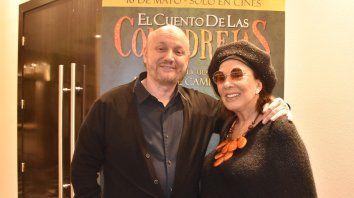 Dupla de lujo. Graciela Borges interpreta a una ex estrella de cine ya olvidada.