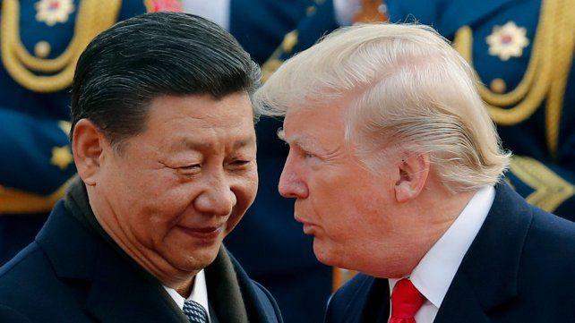 ¿Amigos? Xi Xinping y Trump mantienen una relación difícil desde que el estadounidense llegó al cargo.