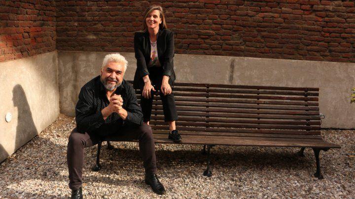 Protagonistas. Cristian Alarcón y Lila Siegrist.