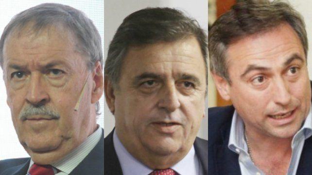 Candidatos. Schiaretti se enfrenta a Negri