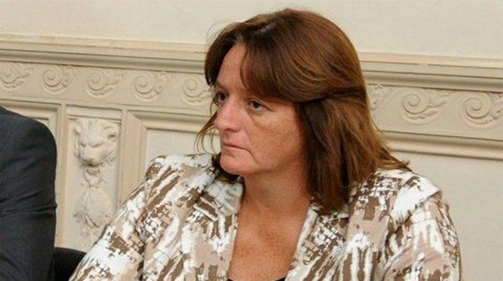 Ana Viglione. Actual subsecretaria de Formación y Desarrollo policial.