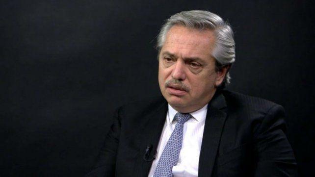 Alberto Fernández: Cristina es candidata o se va a su casa