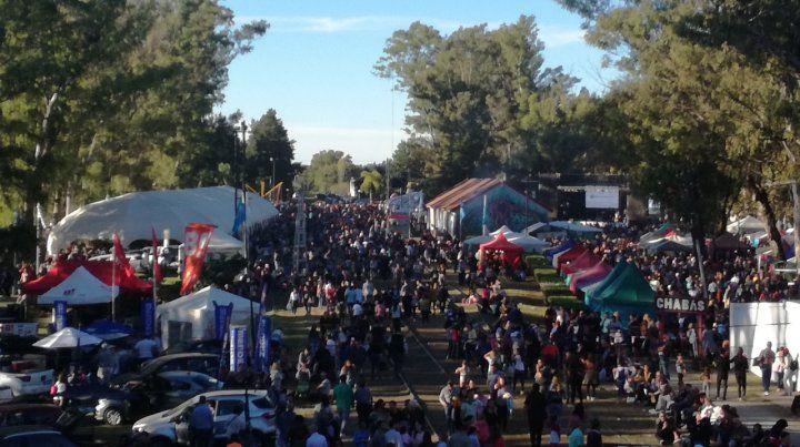 Masiva. La Fespal reunió este año a más de 500 expositores y un público multitudinario.