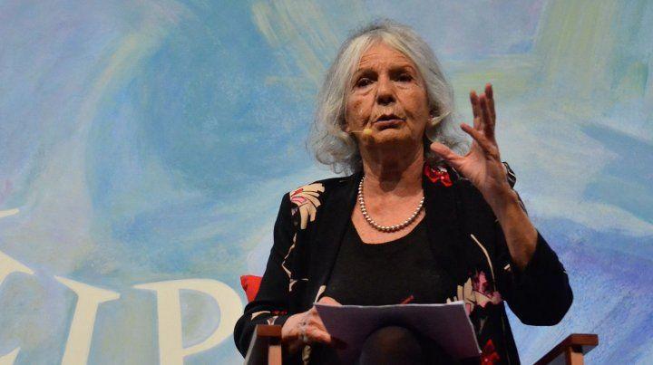 Beatriz Sarlo pone bajo la lupa a famosos y mediáticos
