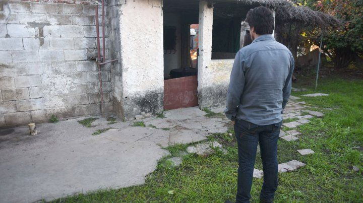 Montevideo al 400. Juanchi Vitale cayó con un balazo en la nuca frente a la casa de su tía. Tenía 23 años.