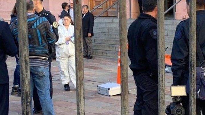 Evacuaron la Casa Rosada y un anexo del Congreso por amenazas de bomba