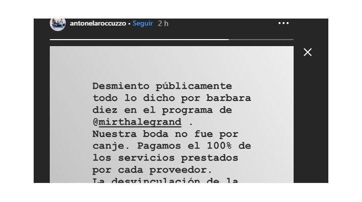Antonela Roccuzzo, furiosa, salió a desmentir a la mujer de Rodríguez Larreta