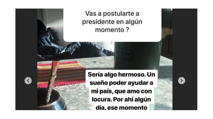Marcelo Tinelli volvió a abonar la posibilidad de ser candidato a presidente