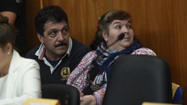 Sin pruebas. Gabriel Strumia y su esposa el día en que fueron absueltos.
