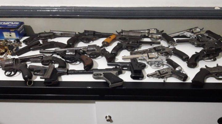 Secuestros. Los operativos de incautaciones de armas de fuego ilegales son cada vez más habituales.
