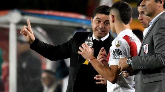 A sus órdenes. Gallardo deberá mostrar su influencia para que River golee a Atlético.