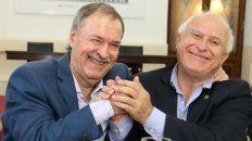 Schiaretti y Lifschitz, en un encuentro en la ciudad de Córdoba.