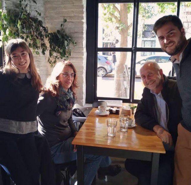 Perotti y Bielsa, la foto más esperada por el PJ santafesino