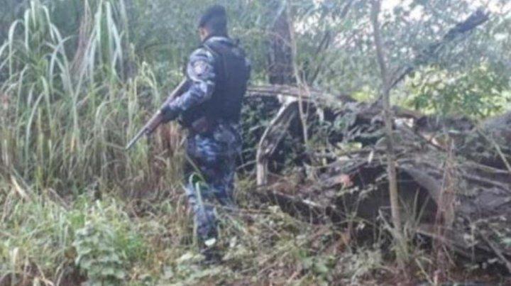El cuerpo de la mujer fue encontrado esta mañana en el patio de su casa
