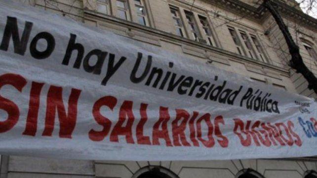 Los docentes universitarios intensifican la lucha y paran 48 horas esta semana