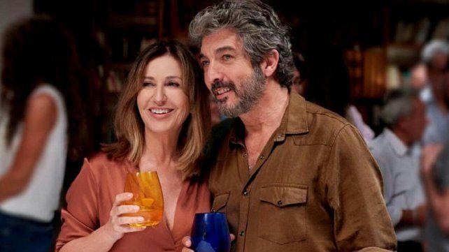 Romance. Mercedes Morán y Ricardo Darín en El amor menos pensado.