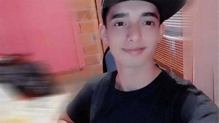 Víctima. Mauro tenía 15 años cuando una bala lo mató frente a su casa.
