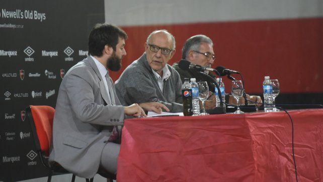 Al mando. Eduardo Bermúdez estuvo al frente de la asamblea