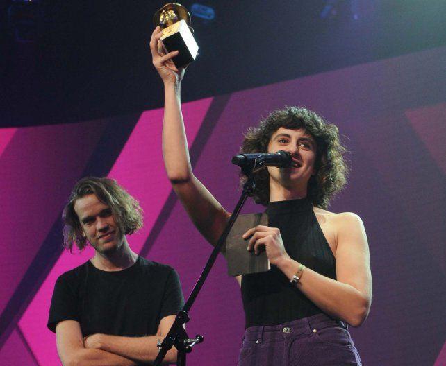 Marilina Bertoldi ganó el Gardel de Oro y las mujeres fueron las protagonistas