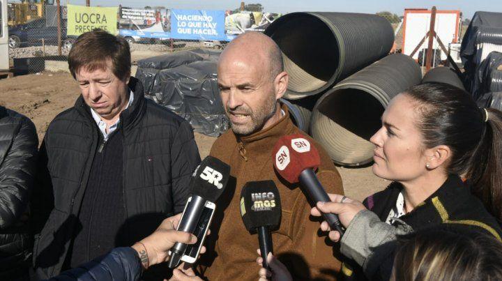 Dietrich dijo que le cuesta entender las críticas de la provincia al gobierno nacional