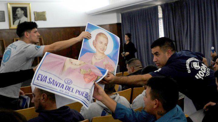La CGT le pide al Vaticano la beatificación de Eva Perón