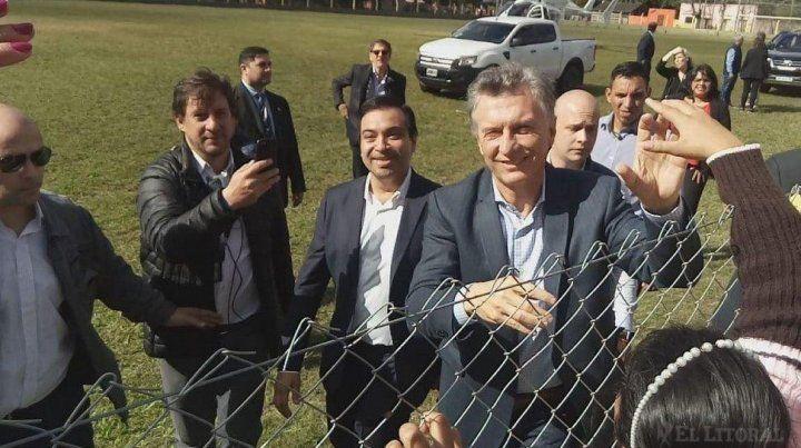 Macri: Queremos trabajo y no impunidad
