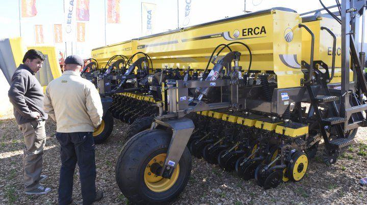La maquinaria agrícola muestra leves signos de recuperación