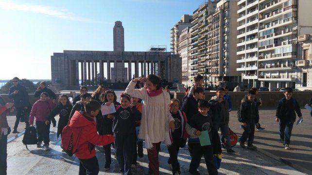 Para descubrir la ciudad mediante rutas educativas