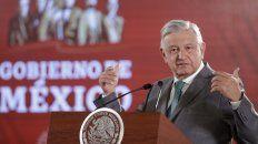 López Obrador anunció un instituto para devolver lo robado