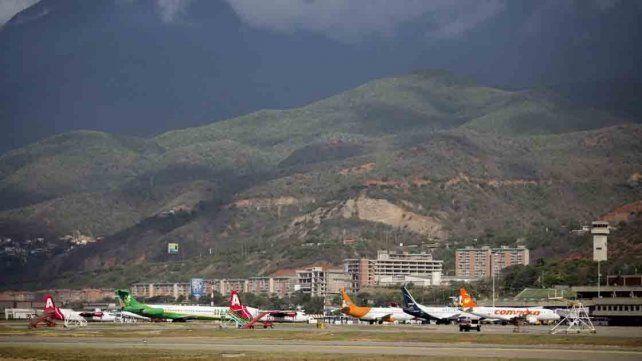 Estados Unidos suspendió todos sus vuelos a Venezuela