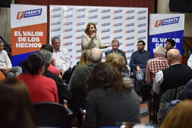 Fein reunió a los candidatos del departamento Rosario