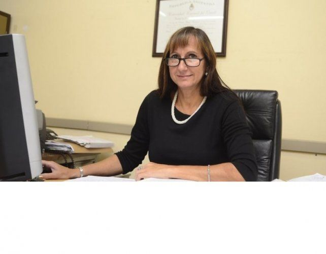 La jueza Rosana Carrara.