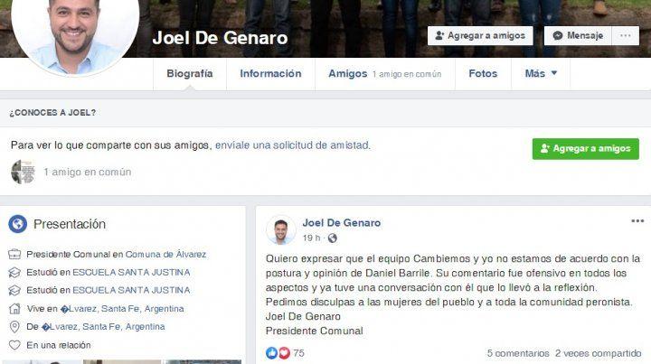 Un funcionario de Alvarez insultó a Eva Perón y desató un escándalo