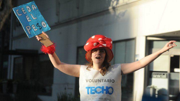 Techo recaudó $ 489.243 en su colecta anual en la región de Rosario