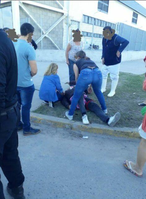 Marcelo Iglesias fue baleado esta tardecita en la ciudad de Santa Fe para robarle el ciclomotor. (Foto: @jufarusf)