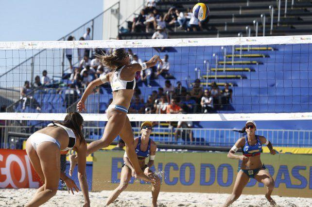Beach Volley: día duro para las duplas argentinas