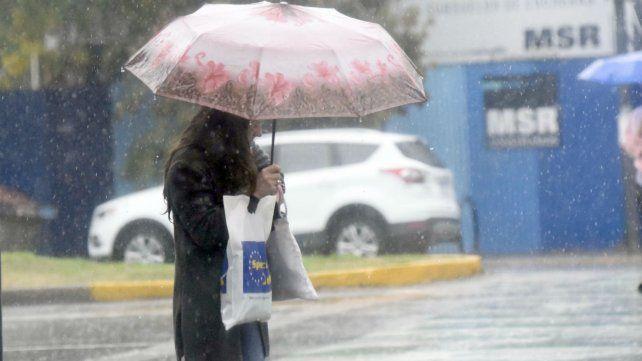 Se esperan precipitaciones para la segunda parte del día.