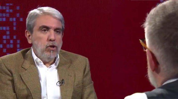 Aníbal Fernández dijo que hay intención de hacerle daño a Cristina