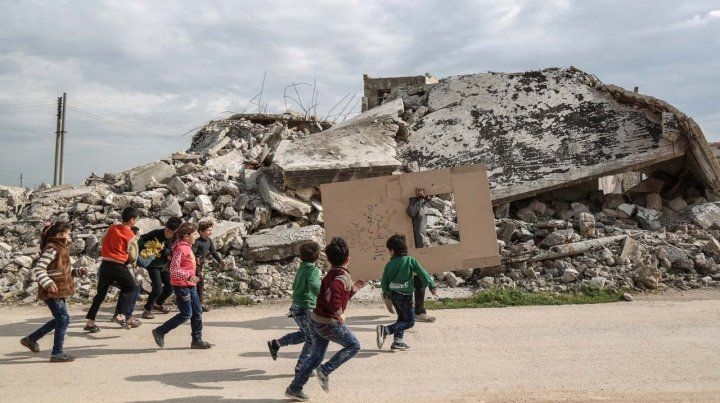 La cara destructiva de la guerra en Siria