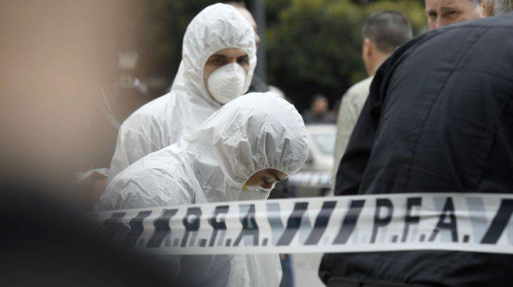 La escena del doble crimen del diputado Héctor Olivares y el funcionario Miguel Yadón.