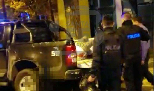 Un video registró la captura de los pistoleros de Pellegrini
