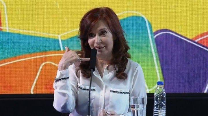 Ex presidenta. Cristina Kirchner está acusada de direccionar la obra pública a favor del grupo Báez.