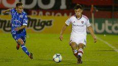Única vez. El defensor entrerriano jugó para Newells contra Godoy Cruz en 2017.