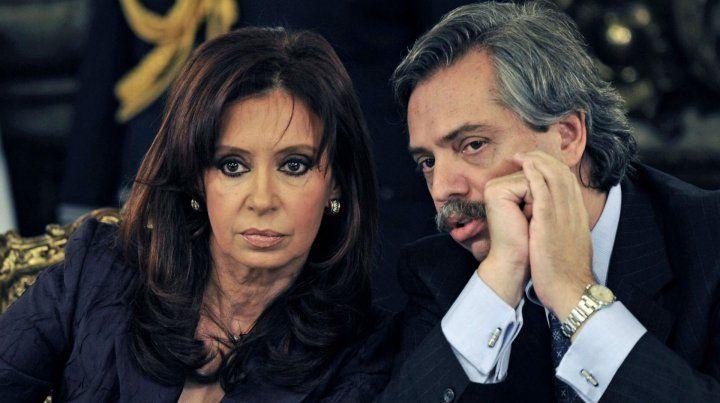Alberto fue jefe de Gabinete de Cristina. Ahora son la fórmula que competirá contra Macri