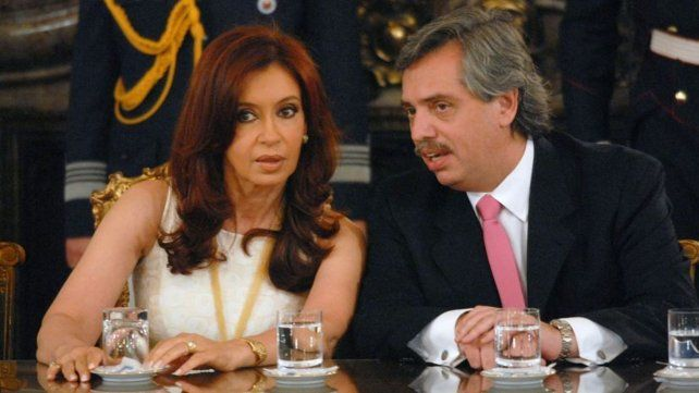 Relaciones. Cristina tuvo con Alberto Fernández una relación oscilante. Hoy es su hombre de confianza.