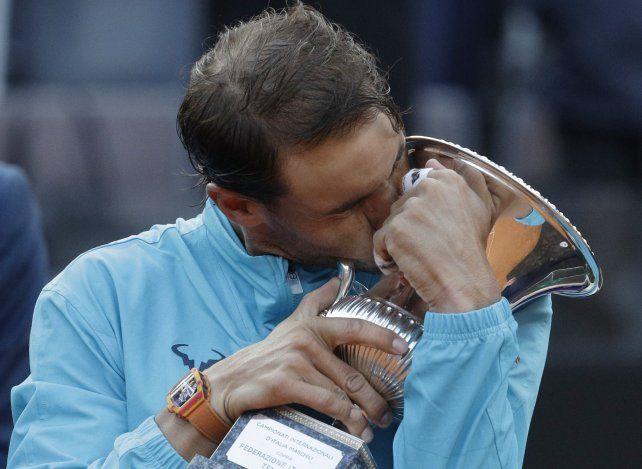 Nadal venció a Djokovic y consiguió su noveno título en Roma
