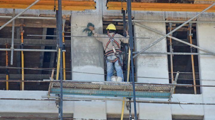 De pie. Si bien la construcción tuvo una fuerte retracción a nivel nacional