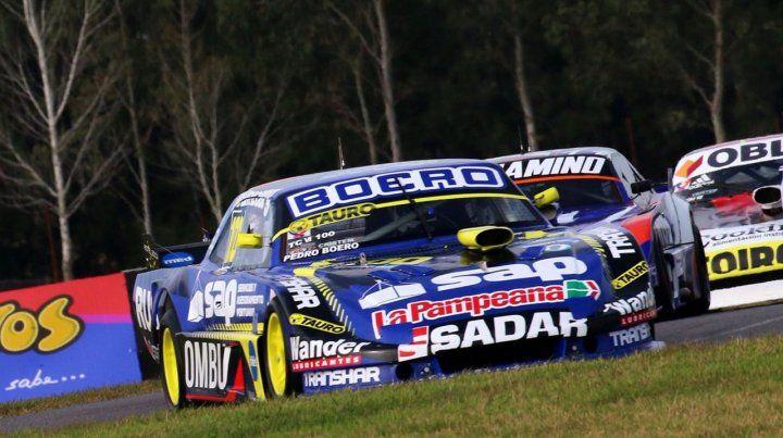 Bien. Pedro Boero hizo una gran carrera en La Plata y en la última vuelta a punto estuvo de superar al 2º y 3º. Fue 4º